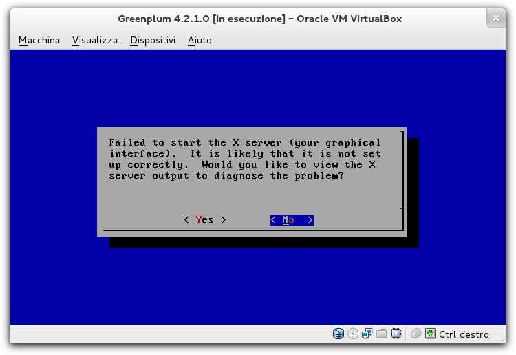 Test Greenplum Community Edition 4 2 1 on VirtualBox