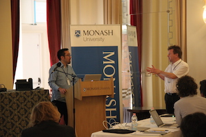 Gene Kim and Harald Massa at OSS4B 2013