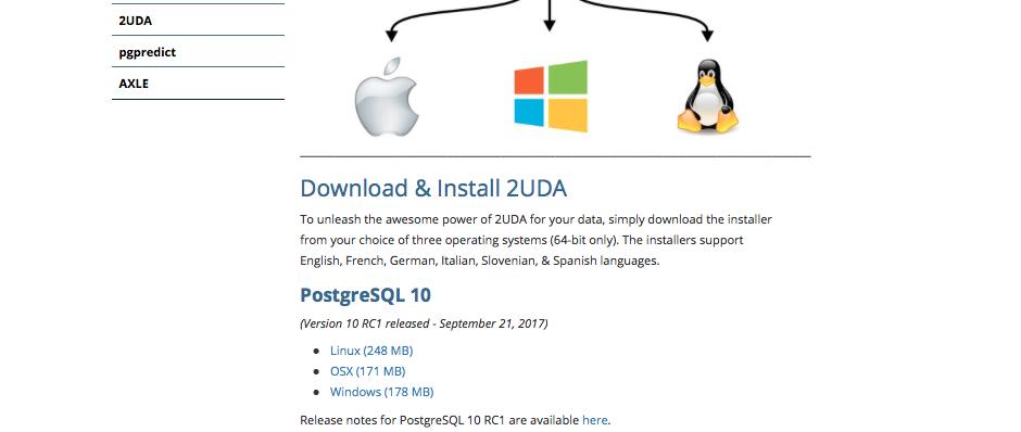PostgreSQL 10 easy installation with 2UDA - 2ndQuadrant | PostgreSQL