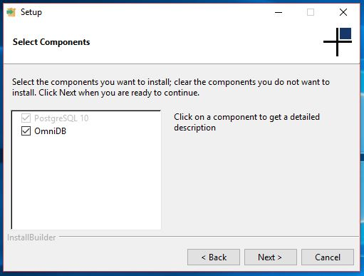 PostgreSQL installer by 2ndQuadrant - now supports OmniDB!