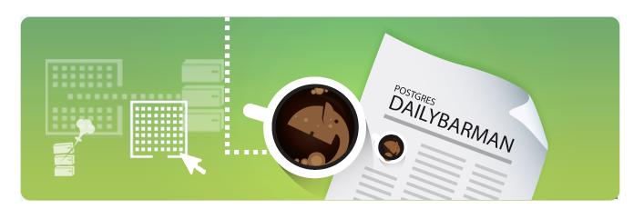 PostgreSQL Barman by 2ndQuadrant, Backup and recovery postgreSQL