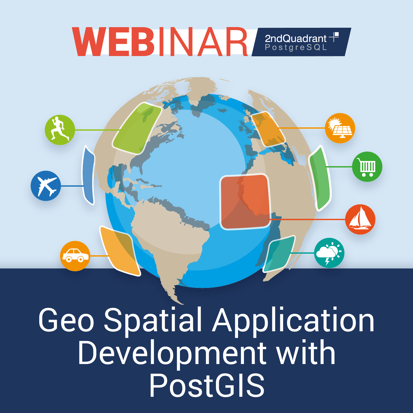 Geo Spatial Application Development with PostGIS
