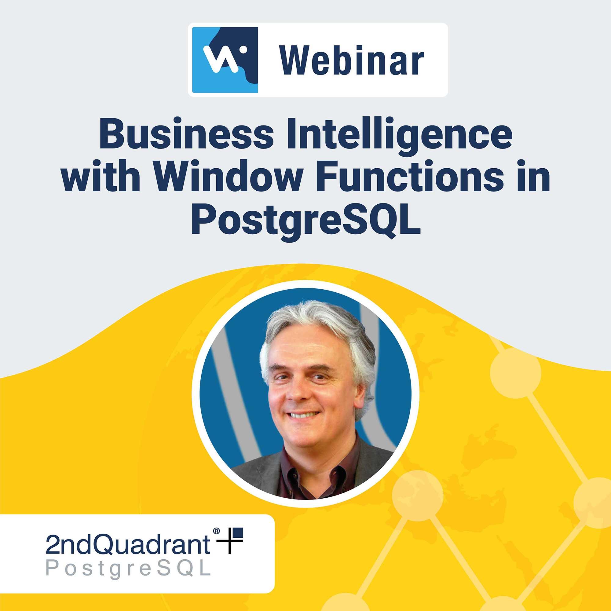 Webinars - 2ndQuadrant | PostgreSQL