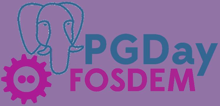 FOSDEM PGDay 2020