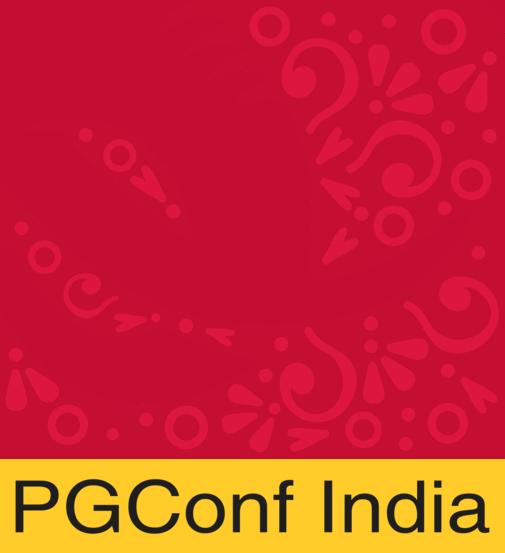 PGConf India 2020