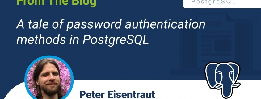 A tale of password authentication methods in PostgreSQL