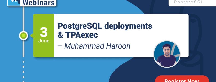 Webinar: PostgreSQL deployments & TPAexec [Follow Up]
