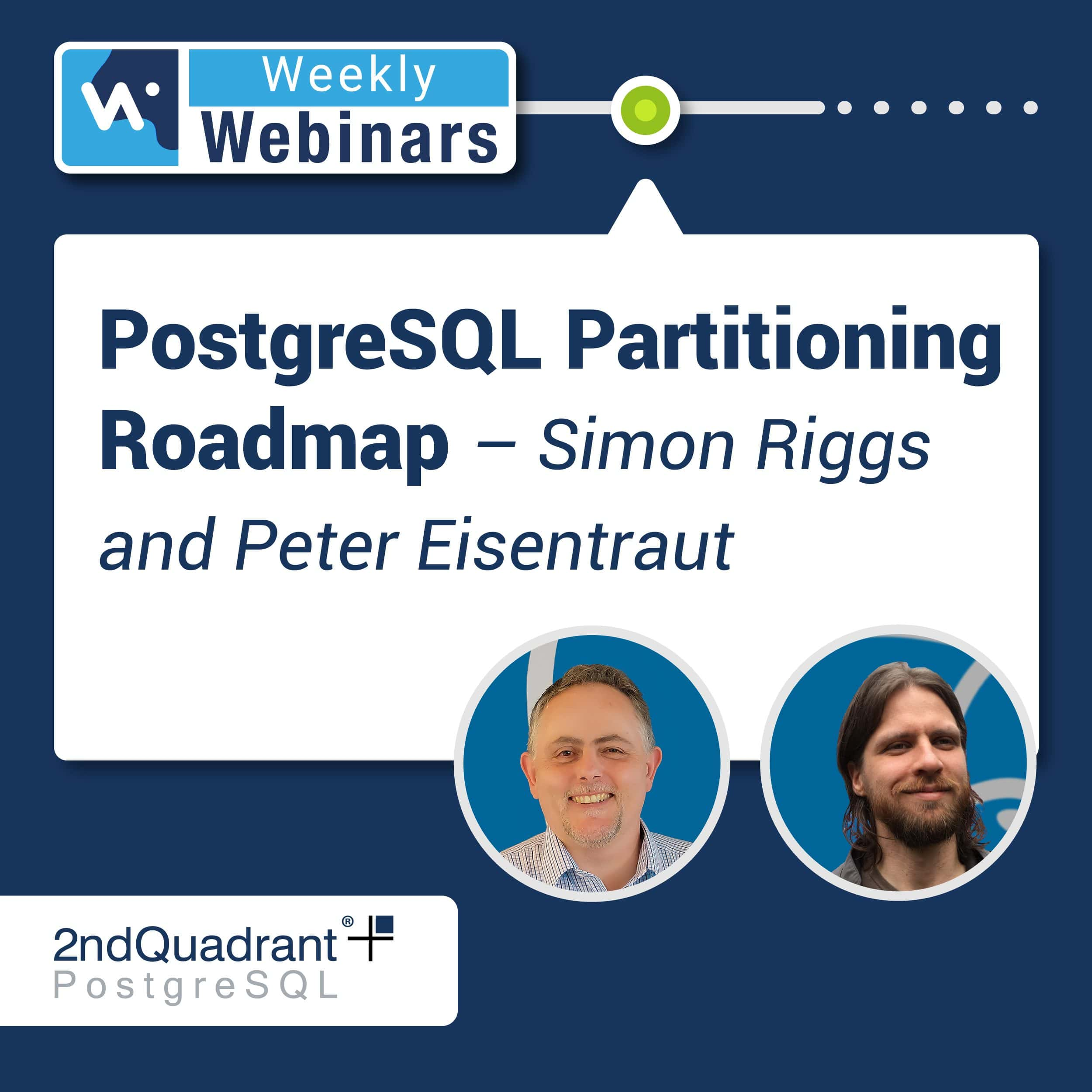 PostgreSQL Partitioning Roadmap