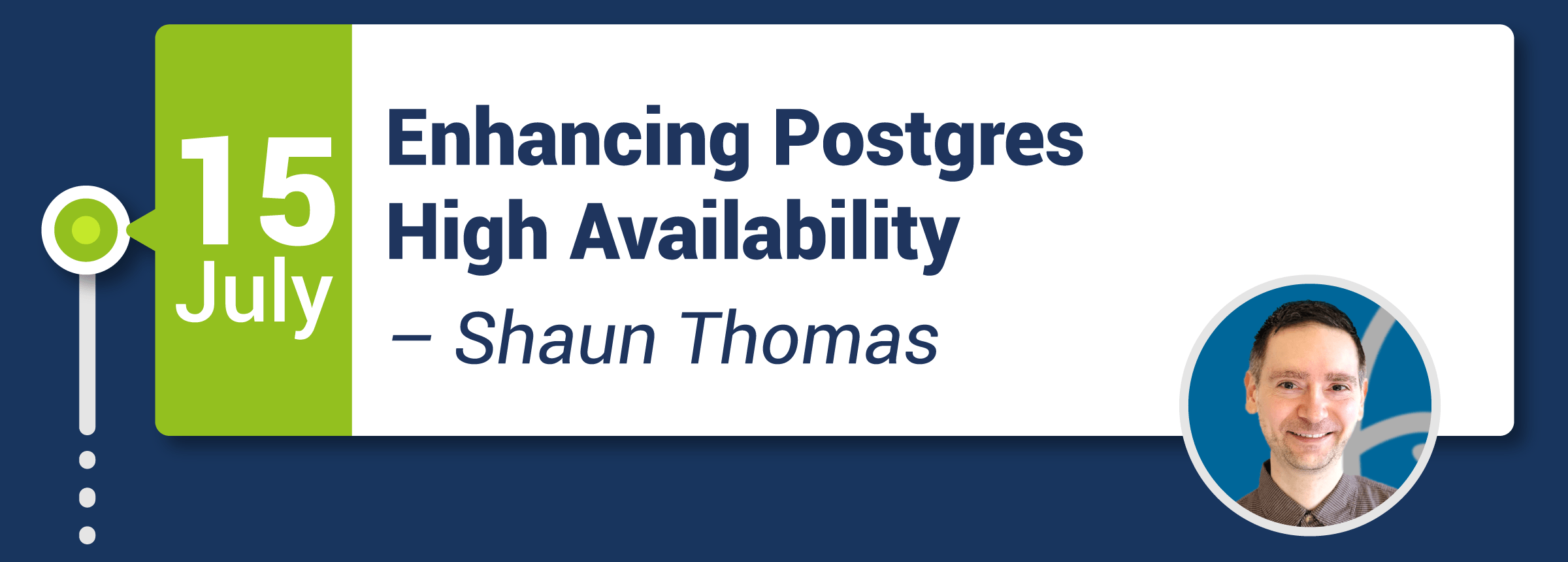 Webinar: Enhancing Postgres High Availability