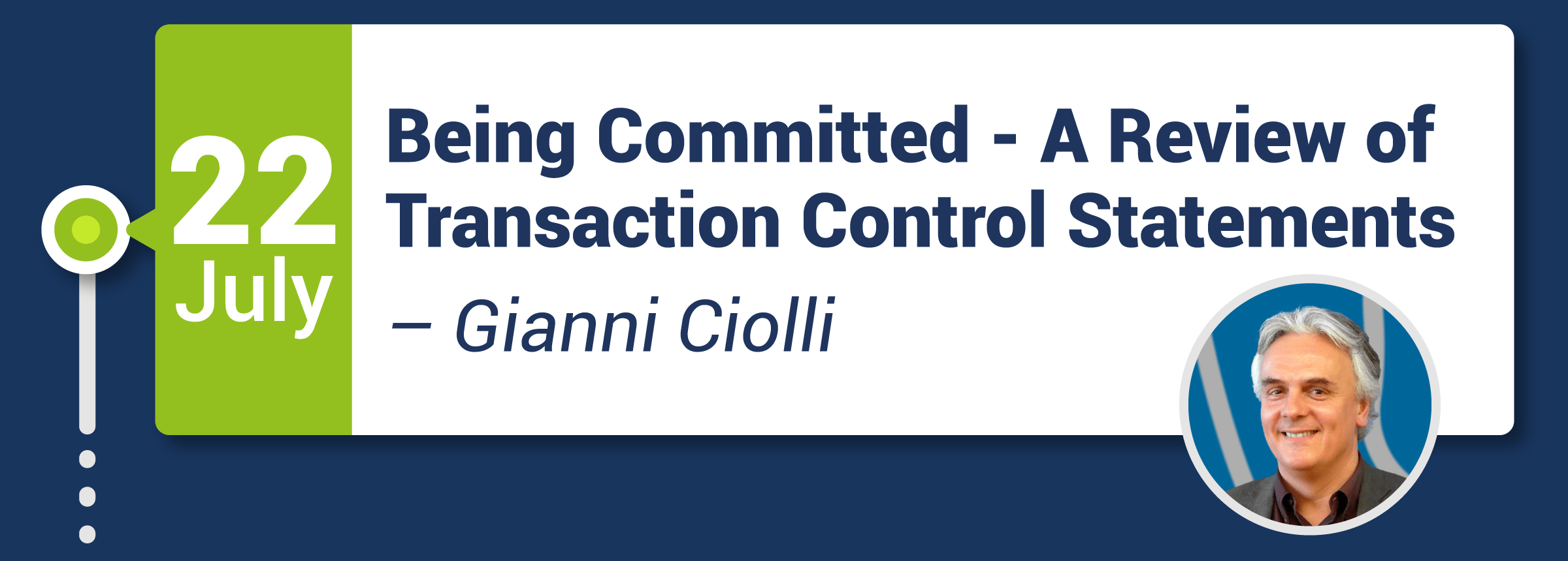 Webinar: Being Committed - A Review of Transaction Control Statements