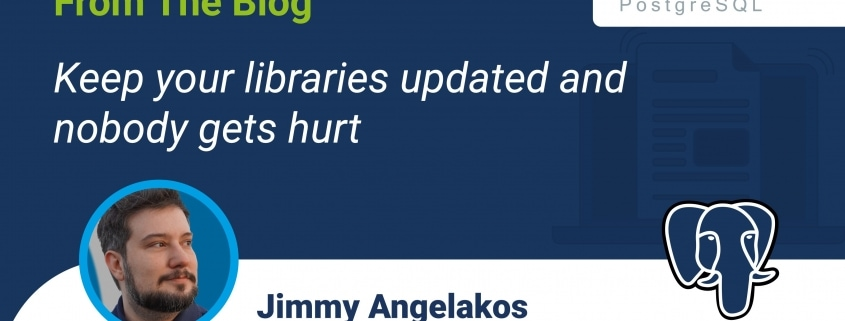 Keep your libraries updated and nobody gets hurt