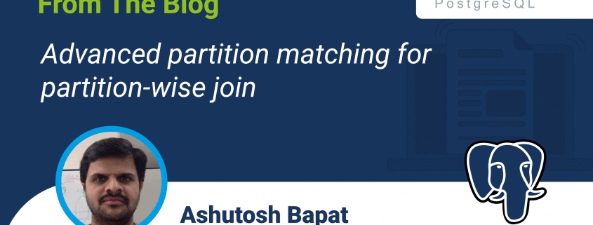 Advanced partition matching for partition-wise join