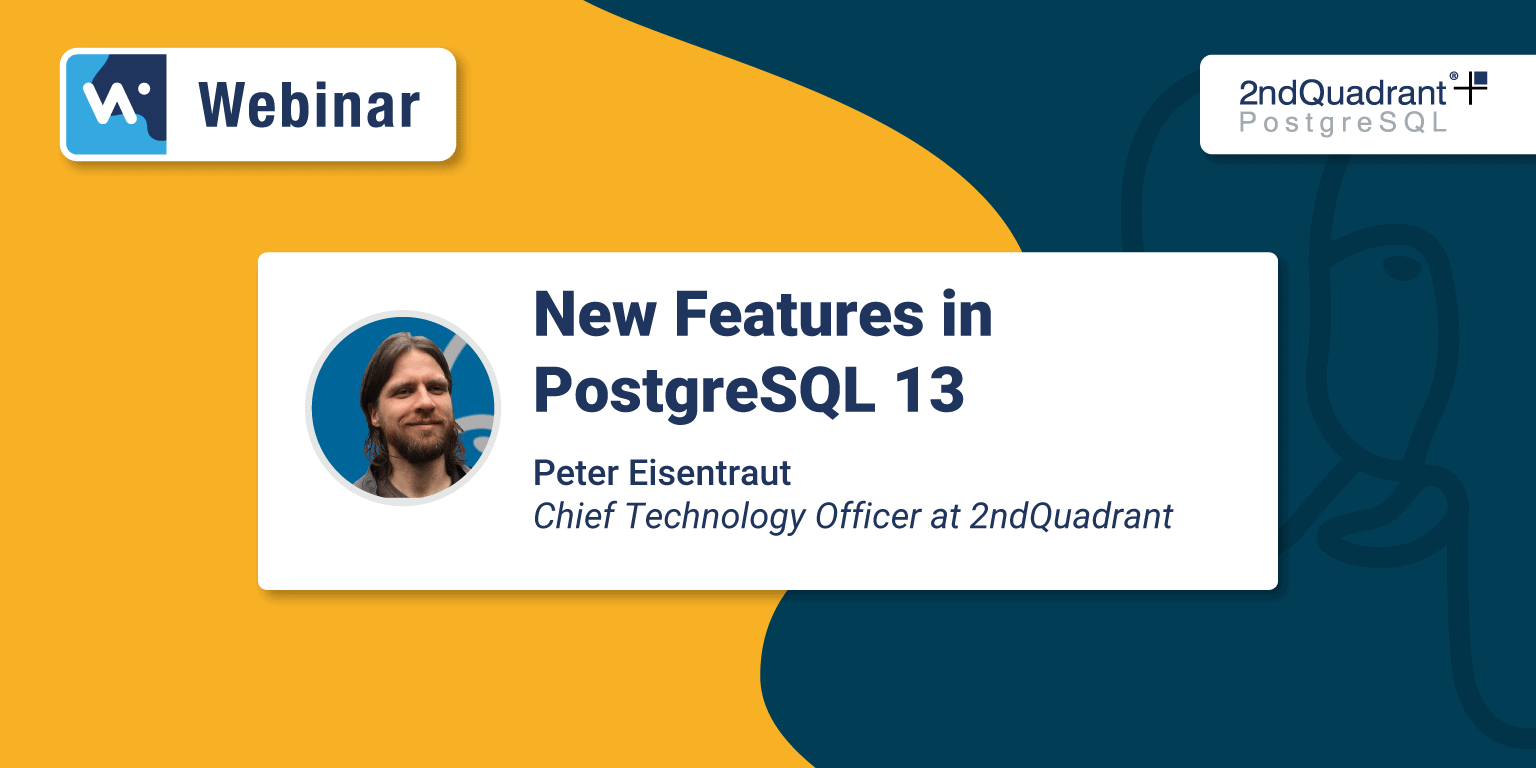 New Features in PostgreSQL 13