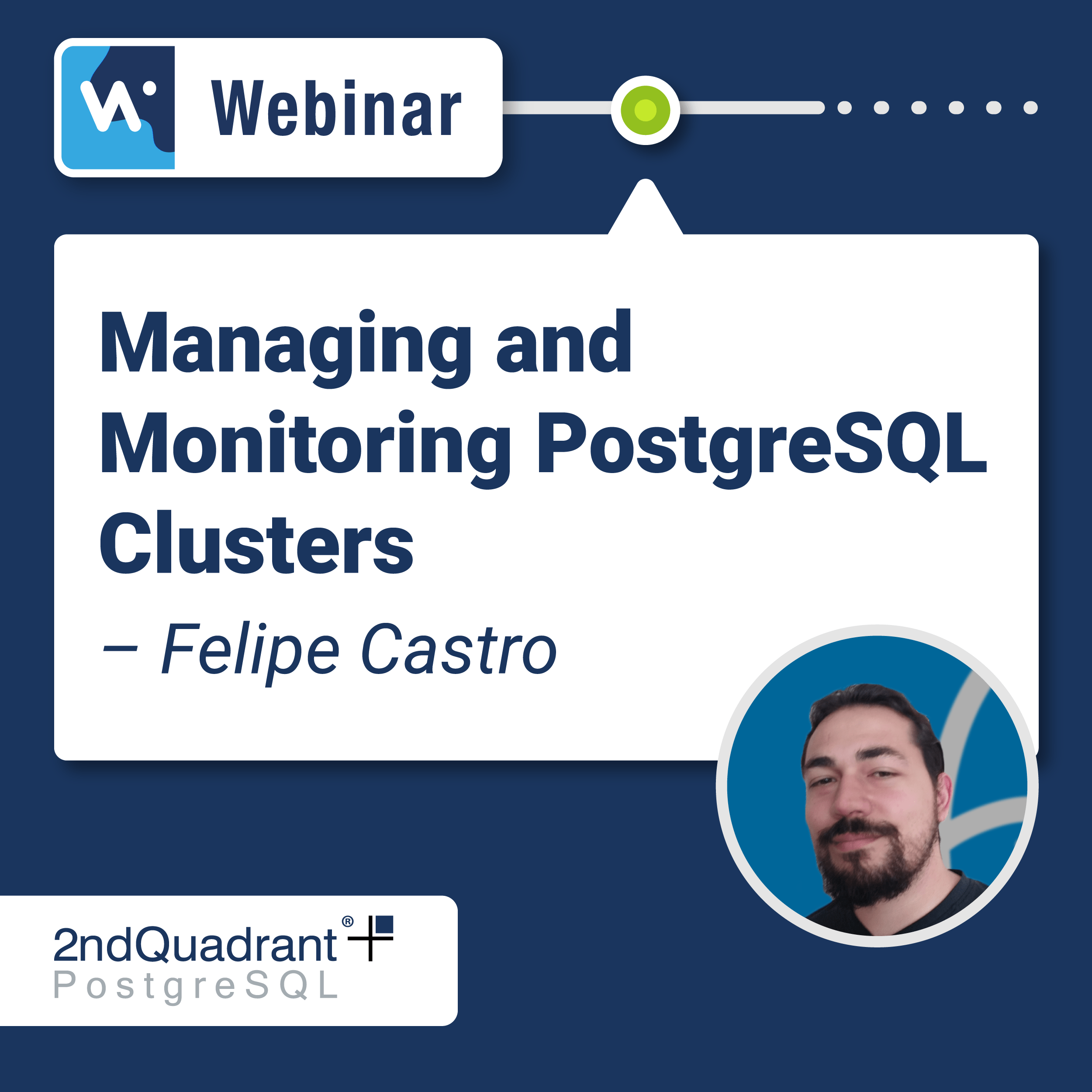 Managing and Monitoring PostgreSQL Clusters with OmniDB