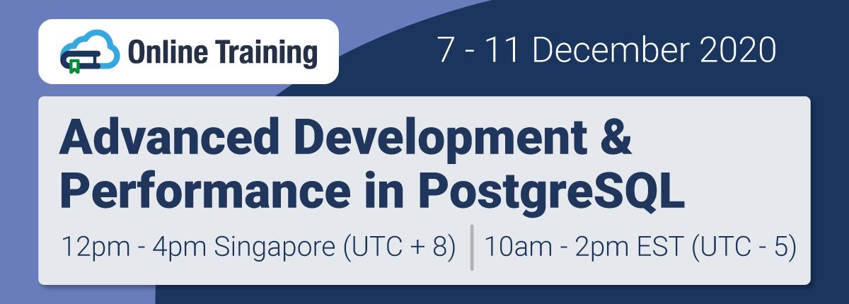Online Training: Advanced Development & Performance